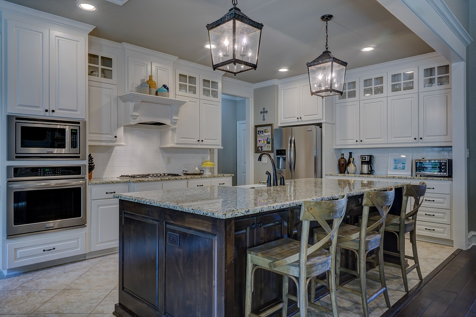 Kitchen, Interior Design, Room, Home, Interior