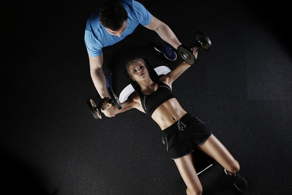 Sport, Strength Training, Woman, Personal Trainer