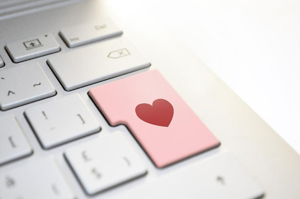 Heart, Love, Keyboard, Enter, Button, Computer, Laptop