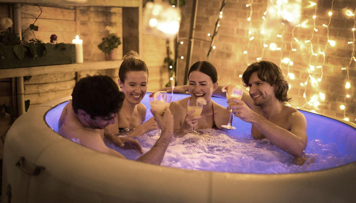 6 Seater Inflatable Hot Tub - South East Hot Tub Hire